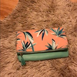 Rachel pally reversable clutch in paradise-vegan